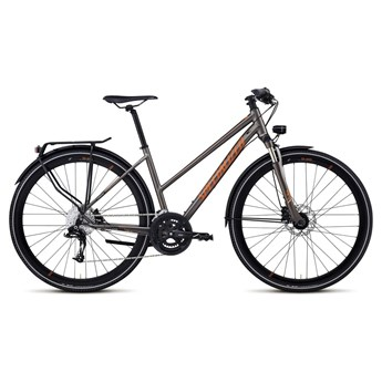 Specialized Crossover Comp Disc Step-Through Gunmetalgrå/Tan/Orange