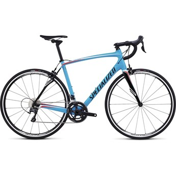 Specialized Roubaix SL4 Comp Gloss Cyan/White/Rocket Red