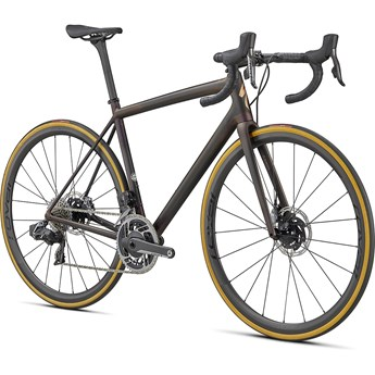 Specialized Aethos S-Works Etap Carbon/Red Gold Chameleon/Bronze Foil 2021