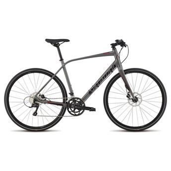 Specialized Sirrus Elite Disc Sterling/Black/Red