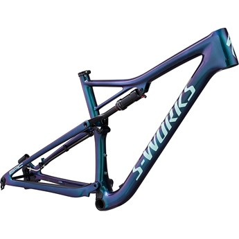 Specialized Epic Men S-Works Carbon 29 Frame Gloss Oil Slick/Mint