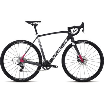 Specialized CruX Expert X1 Carbon/Charcoal/Bright Pink 2017