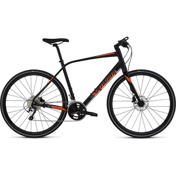 Specialized Sirrus Comp Disc Black/Orange/Black