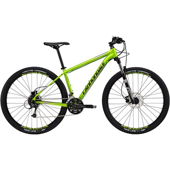 Cannondale Trail 4 Acid Green with Jet Black and Fine Silver, Gloss