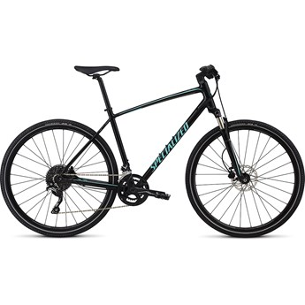Specialized Crosstrail Elite INT Gloss Tarmac Black/Charcoal/Light Turquoise Reflective