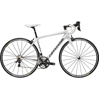 Cannondale Synapse Carbon Damcykel Ultegra Wht