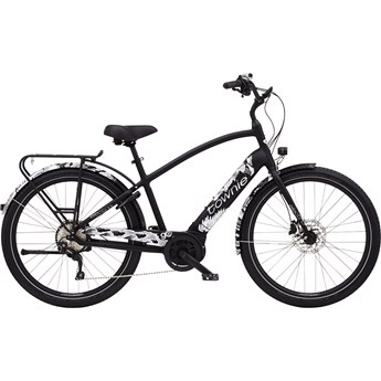 Electra Townie Path Go! 10D Step-Over Black 2020