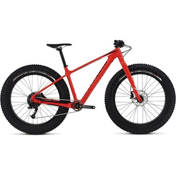 Specialized Fatboy Comp Carbon Gloss Rocket Red/Black/Grey Fade