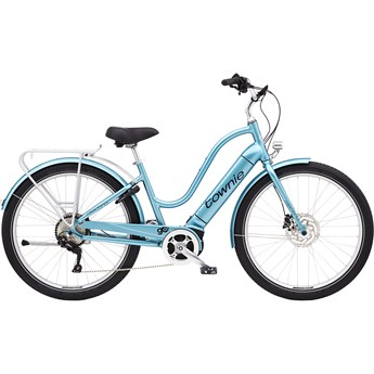 Electra Townie Path Go! 10D Step-Thru Aqua Metallic 2020