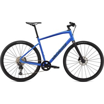 Specialized Sirrus X 4.0 Gloss Sky Blue/Tarmac Black/Satin Black Reflective 2021