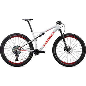 Specialized Epic S-Works Carbon SRAM AXS 29 Gloss Dove Grey/Rocket Red/Crimson 2020