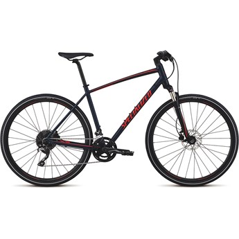 Specialized Crosstrail Elite Int Cast Blue/Rocket Red/Rocket Red Reflective