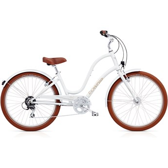 Electra Townie Balloon 8D EQ Ladies White