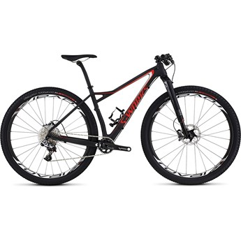Specialized S-Works Fate Carbon 29 Satin Gloss Carbon/Rocket Red/Dirty White