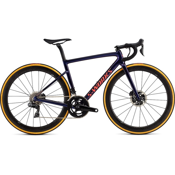 Specialized S-Works Tarmac Womens SL6 Disc Di2 Gloss Chameleon Flake/Satin Acid Red/Clean