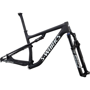 Specialized S-Works Epic Frameset Satin Carbon/Gloss White Spectraflair
