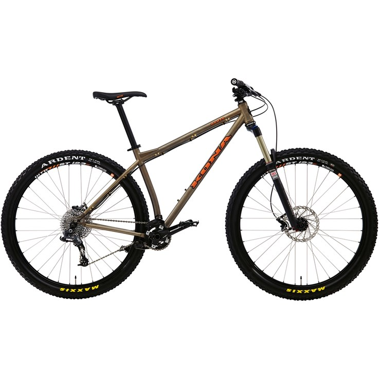 Kona Honzo Matt Gold with Orange and Black