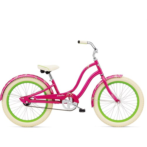 Electra Cherie 1 20'' Girl's Hot Pink