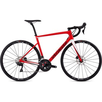 Specialized Tarmac Men SL6 Sport Disc Gloss Flo Red/Metalic White Silver/Tarmac Black