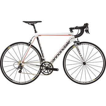 Cannondale CAAD12 Ultegra Cashmere with Nearly Black and Acid Red, Satin