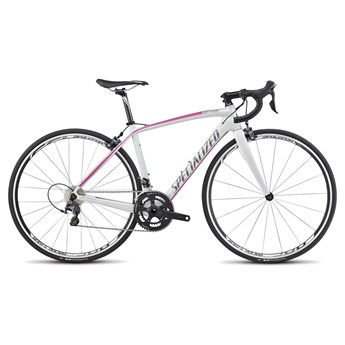 Specialized Amira SL4 Comp Cen Dirty White/Pink/Charcoal