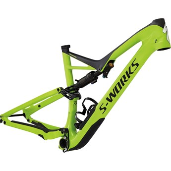 Specialized S-Works Stumpjumper FSR Carbon 29/6Fattie Ram (Frame) Monster Green/Carbon 2017
