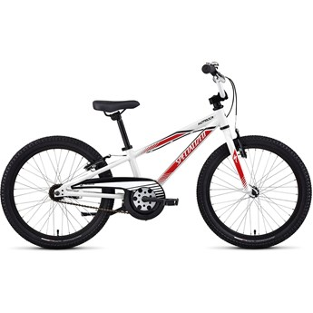 Specialized Hotrock 20 Coaster Boys White/Red/Black