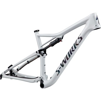 Specialized Epic S-Works Carbon 29 Frame Gloss White Prismaflair/Black Holographic Reflective