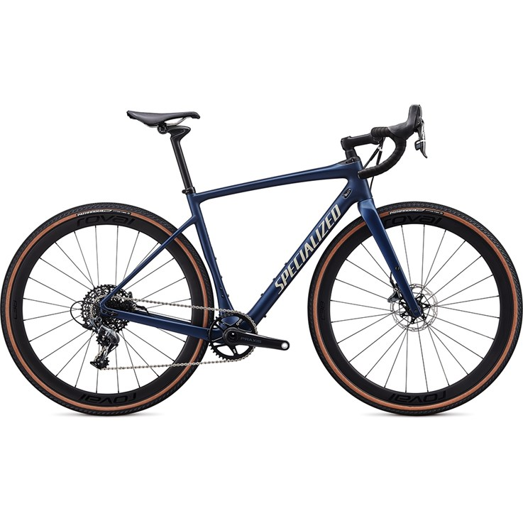 Specialized Diverge Expert Carbon X1 Satin Navy/White Mountains Clean 2020