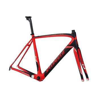 Specialized Tarmac SL4 Pro Bara Ram (Frameset) Röd/Materialfärg