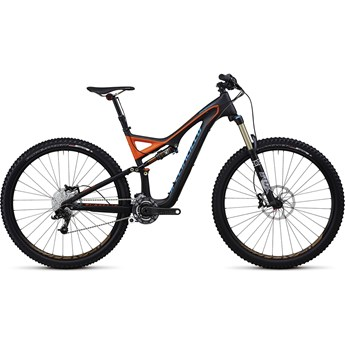 Specialized Stumpjumper FSR Expert Kolfiber Evo 29 Grå/Orange/Blå