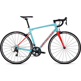 Specialized Allez Elite Gloss Light Blue/Rocket Red 2019