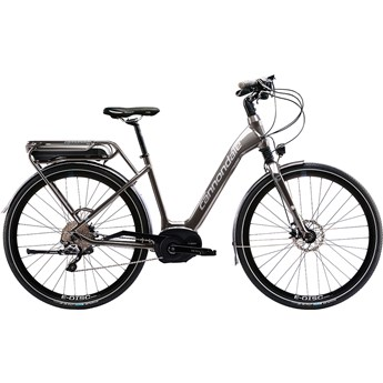 Cannondale Mavaro Performance 1 City Charcoal Gray with Blue Collar and Fine Silver, Gloss