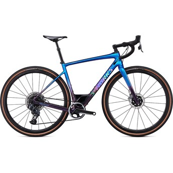 Specialized Diverge S-Works Carbon Etap Gloss Chameleon/Sunset Chameleon Fade/Holographic Black Clean