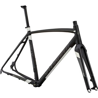 Specialized Crux E5 Disc Frame Satin Nearly Black/Charcoal/Silver/Black