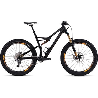 Specialized S-Works Stumpjumper FSR 6Fattie Gloss/Carbon/Charcoal/Gallardo Orange