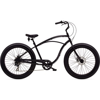 Electra Cruiser Lux Fat Tire 7d Matte Black Herr