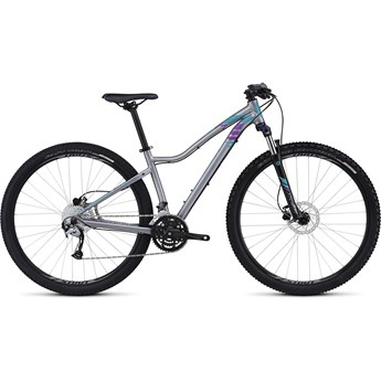 Specialized Jett Sport 29 Satin Sterling Grey/Fuschia/Deep Turquiose