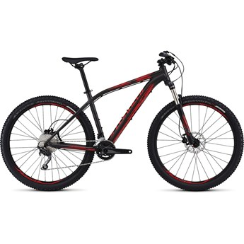 Specialized Pitch Expert 650B Satin Warm Charcoal/Flo Red/Rocket Red