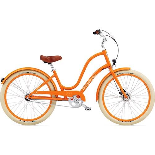 Electra Townie Balloon 3i EQ Ladies' Tangerine 2015