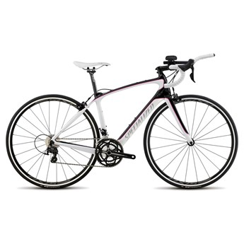 Specialized Alias Sport 105 Tri Compact Double Carbon/White/Pink
