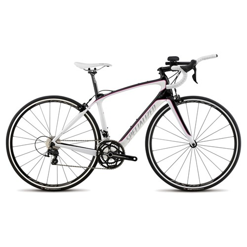Specialized Alias Sport 105 Tri Compact Double Carbon/White/Pink 2015