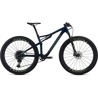 Specialized Epic Womens S-Works Carbon 29 Satin Gloss Chameleon Flake/Acid Kiwi 2019