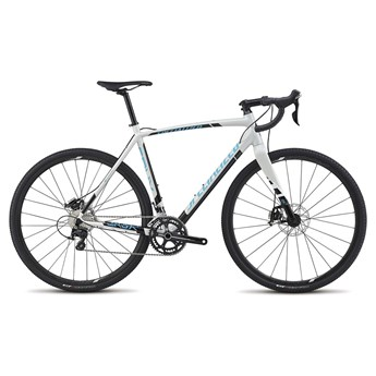Specialized CruX Sport E5 Dirty White/Black/Cyan/White