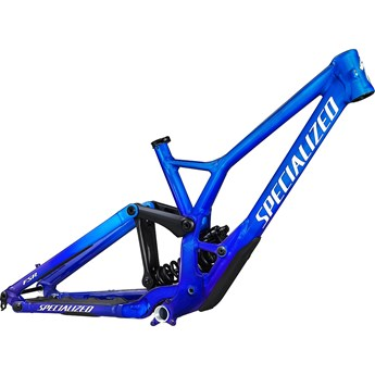 Specialized Demo Race Frame Gloss Cobalt/BlueTint Fade/MetallicWhite Silver