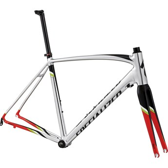 Specialized Allez DSW SL Frameset Polished/Tarmac Black/Rocket Red/Hyper/White