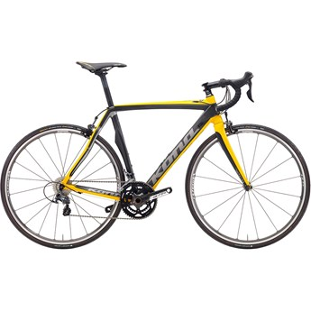Kona Zone Two Dark Silver/Dark Yellow/Black On Matt Carbon