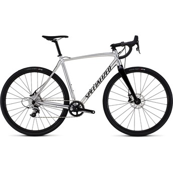 Specialized Crux E5 X1 Gloss Silver Ano/Clean