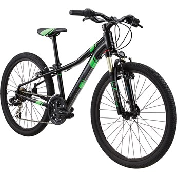 Cannondale Race 24 Kids Jet Black with Viserker Green and Nearly Black, Gloss
