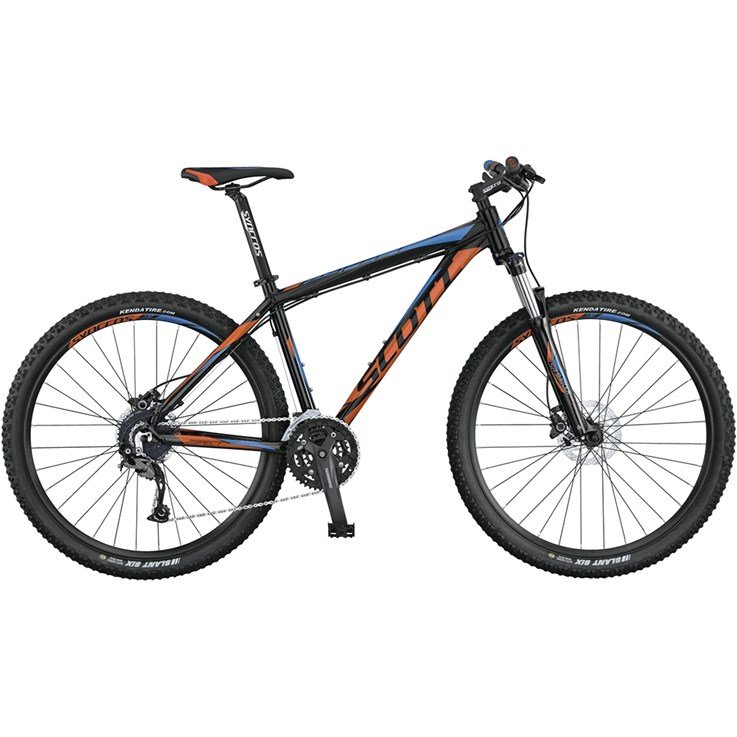 Scott Aspect 740 Black Orange/Blue